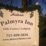Historic Palmyra Inn sign